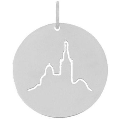 Médaille Notre Dame de la Garde (or blanc 18 carats)  par Maison La Couronne