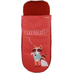 Lit d'appoint avec matelas gonflable Gododo Night red