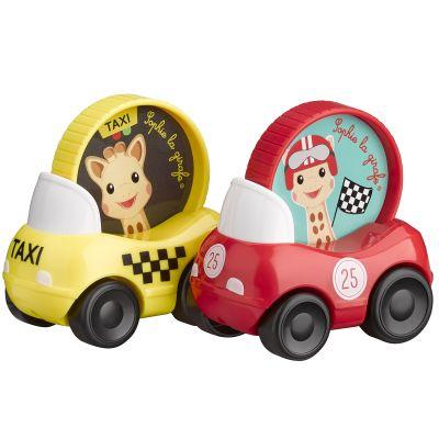 Lot de 2 véhicules  par Sophie la girafe