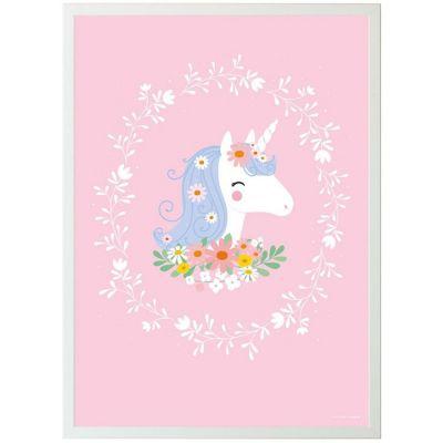 Affiche Licorne (50 x 70 cm)  par A Little Lovely Company