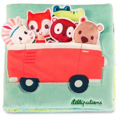 Livre bébé en tissu Louise et ses copains  par Lilliputiens