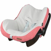 Housse pour siège-auto groupe 0+ Robust Maille rose framboise - Baby's Only