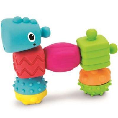 Blocs de construction Sensory Blocs (8 pièces)  par Infantino