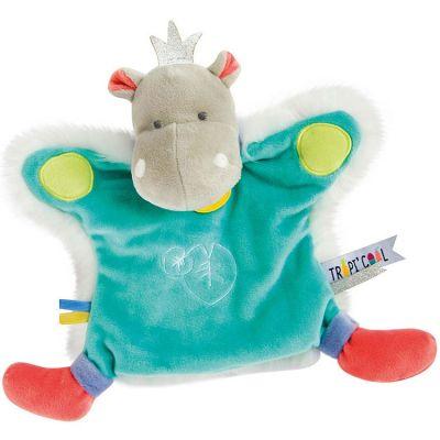 Marionnette Hippopotame Tropi'cool  par Doudou et Compagnie