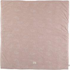 Tapis de jeu Colorado White Bubble Misty Pink (100 x 100 cm)