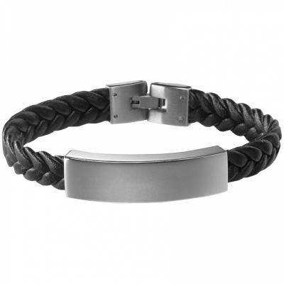 Bracelet Le Gentleman (acier)  par Petits trésors