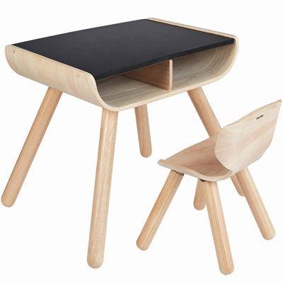 Table et chaise en bois  par Plan Toys
