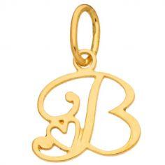 Pendentif initiale B (or jaune 750°)