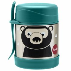 Thermos alimentaire avec fourchette Ours (350 ml)