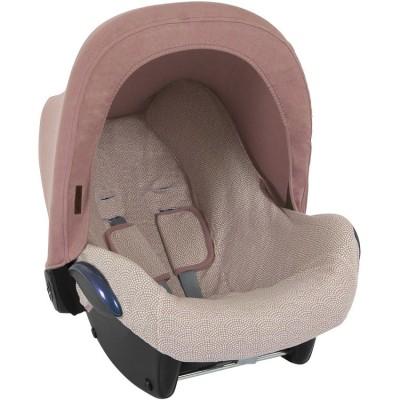 Capote pour siège auto 0+ pink  par Little Dutch