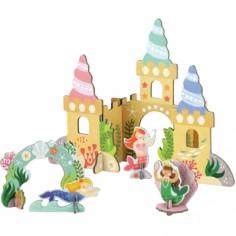 Château de sirènes en 3D