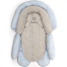 Réducteur de cosy évolutif Cuddle Soft gris et bleu