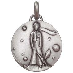 Médaille Petit Prince au renard (argent 925°)