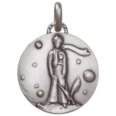 Médaille Petit Prince au renard (argent 925°)  par Monnaie de Paris