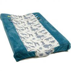 Housse de matelas à langer Storm blue (45 x 70 cm)