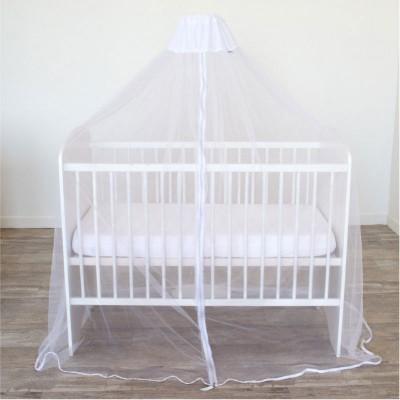 Ciel de lit moustiquaire universel blanc  par Domiva