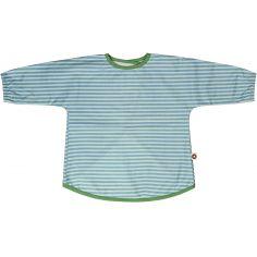 Tablier à rayures en coton bio (2 à 5 ans)
