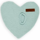 Attache sucette Classic coeur vert menthe - Baby's Only