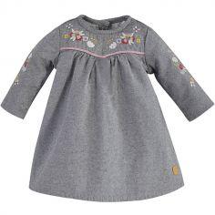 Robe Petit Lama grise (9 mois)