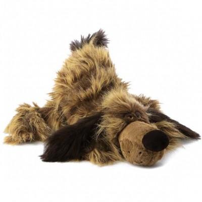Peluche chien Xtreme Coucher (45 cm) Sigikid