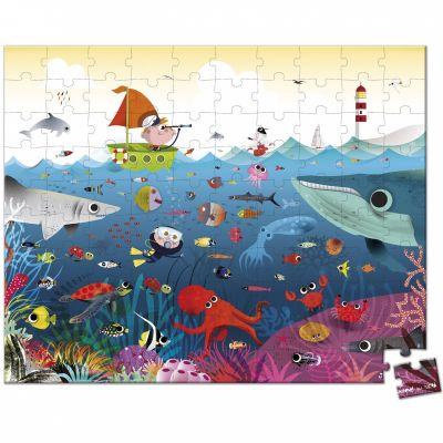 Puzzle Le monde sous-marin (100 pièces)