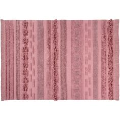Tapis lavable Canyon rose (140 x 200 cm)
