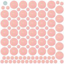 Sticker jolis pois Polkadots rose (modèle intermédiaire)  par Love Maé