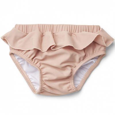 Maillot de bain culotte anti-UV Laura rose poudré (4-9 mois)  par Liewood
