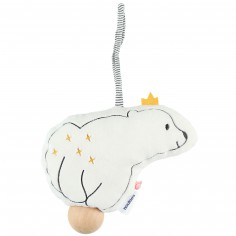 Coussin musical ours Sam