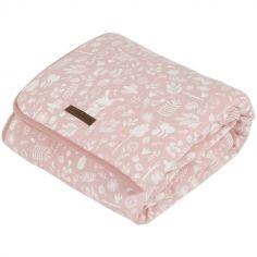 Couverture bébé pure & soft Adventure pink (70 x 100 cm)