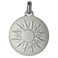 Médaille laïque ''Je brillerai comme un soleil'' (argent 950°)