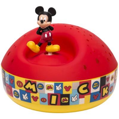 Projecteur d'Etoiles musical Mickey  par Trousselier