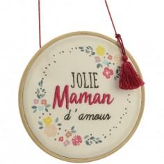 Décoration murale à suspendre jolie Maman d'amour