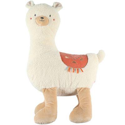Peluche géante lama Sacha (80 cm)  par Noukie's