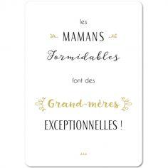 Carte citation Grand-Mère (15 x 21 cm)