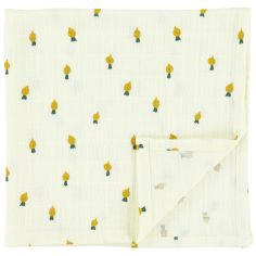 Lot de 2 langes en mousseline de coton Tiny Turnip (110 x 110 cm)