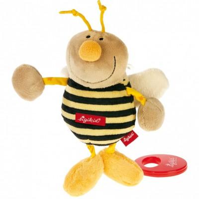 Peluche musicale abeille (13 cm) Sigikid