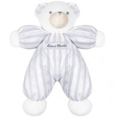 Peluche ours gris Collection 1977 (25 cm)