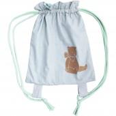 Sac à dos junior à ficelles Des ronds dans les Etoiles petit ours - Les Petits Vintage