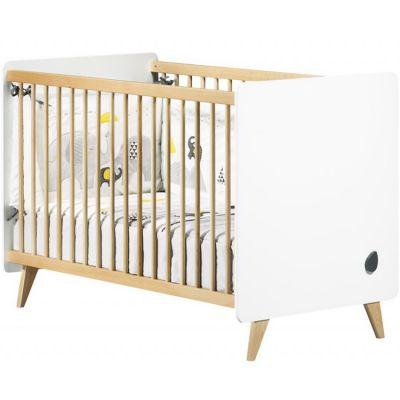 Lit bébé évolutif en lit junior Little Big Bed Oslo (70 x 140 cm)  par Sauthon mobilier