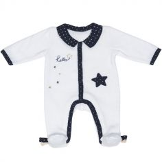 Pyjama chaud étoile Hello (3 mois)