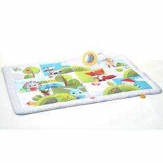 tapis de jeu g ant dans la prairie 150 x 100 cm tiny love. Black Bedroom Furniture Sets. Home Design Ideas