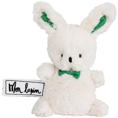 Mini peluche lapin Mon Lapin (17 cm) Les P'tites Douceurs