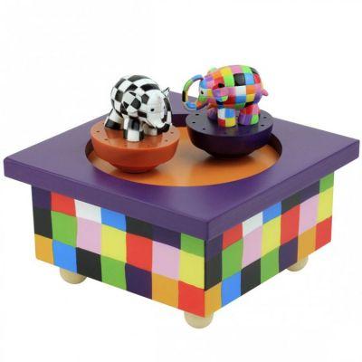 Boîte à musique magnétique Elmer  par Trousselier