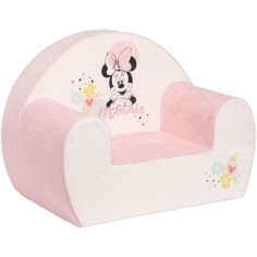 Fauteuil club Minnie rose