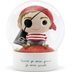 Boule à neige Pirate