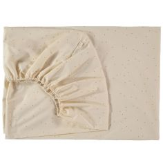 Drap housse Tibet Honey sweet dots (90 x 200 cm)