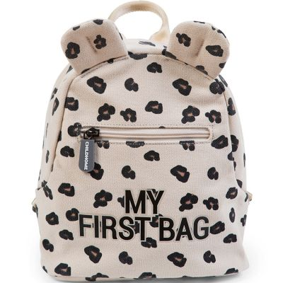 Sac à dos bébé My first bag léopard (24 cm) Childhome