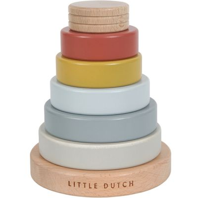 Pyramide en bois Pure & Nature  par Little Dutch