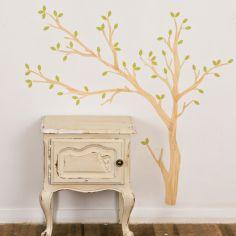 Sticker arbre Build a tree light (grand modèle)